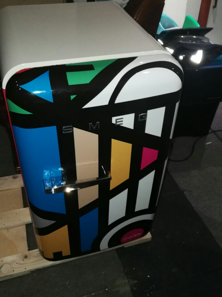 BRAND NEW SMEG 50'S RETRO STYLE TECHNICOLOUR BARFRIDGE (UNWANTED GIFT STILL SEALED IN BOX)