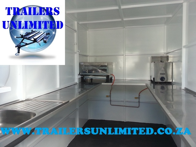 CATERING TRAILER 3500 X 1800 X 2000