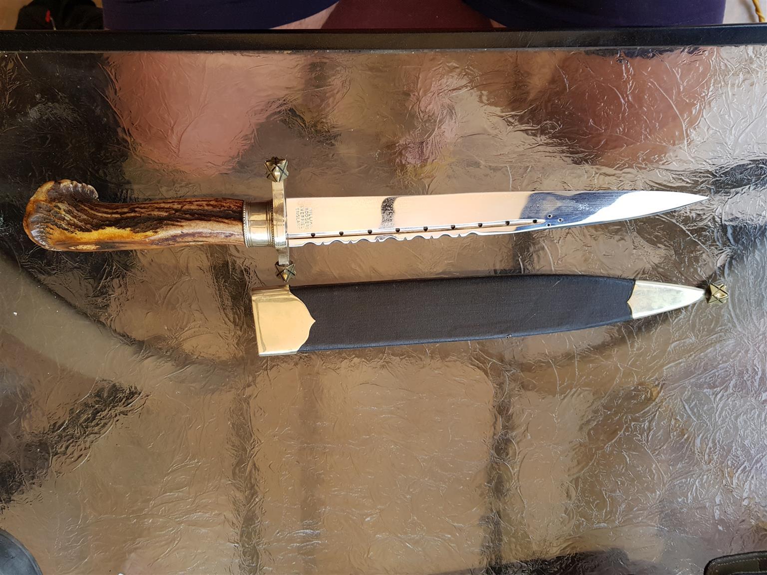 William Rodger sheffield, England, dagger