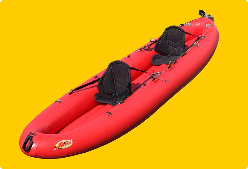 Ark Inflatable Kayak (2-seater)