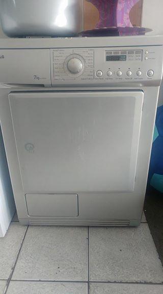Lg metallic tumble dryer