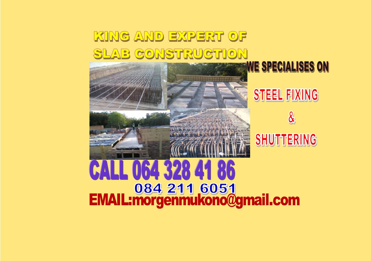 King and Expert of slab construction