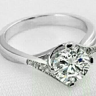 1.5 Carat Vintage Eternity Ring