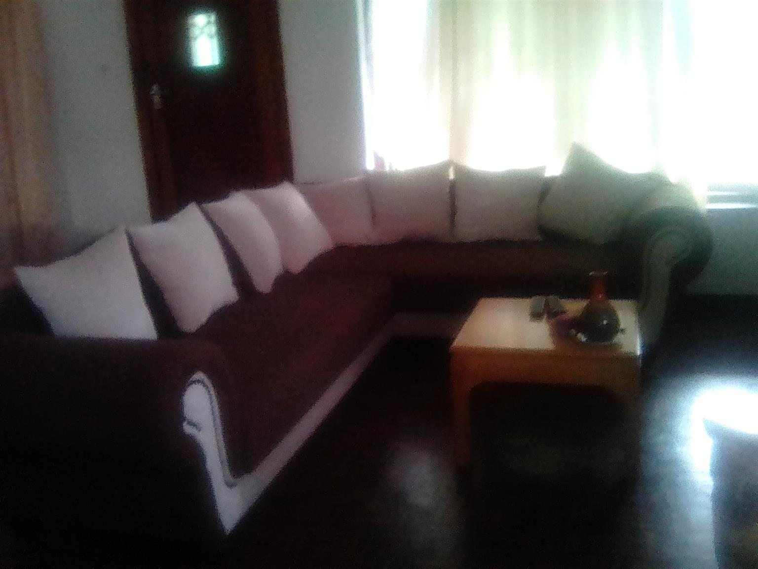 Lisa Corner  L Shaped Lounge suite 6 seater Pinetown