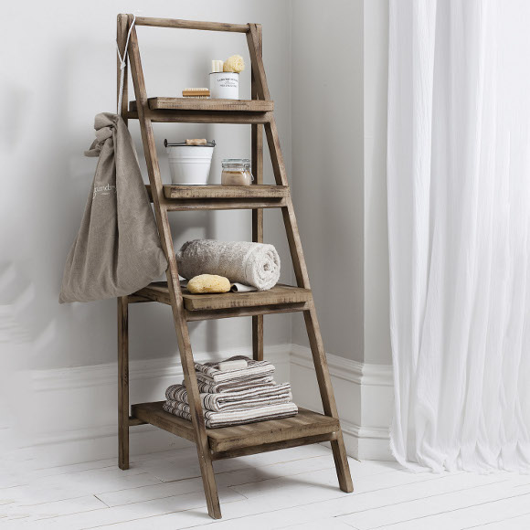 Ladder storage unit