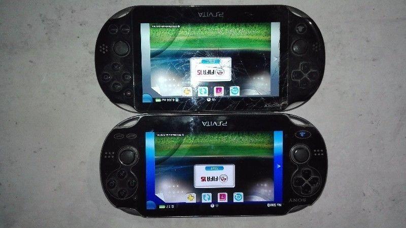 PS x 2 Vitas