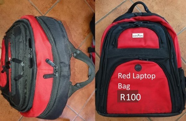 Red laptop bag for sale
