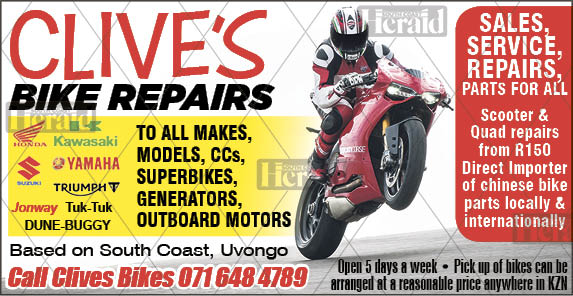 REPAIRS TO ALL BIKES/SCOOTERS/ROADBIKES/SUPERBIKES/QUADS/GOLF CARTS/OUT-BOARD MOTORS