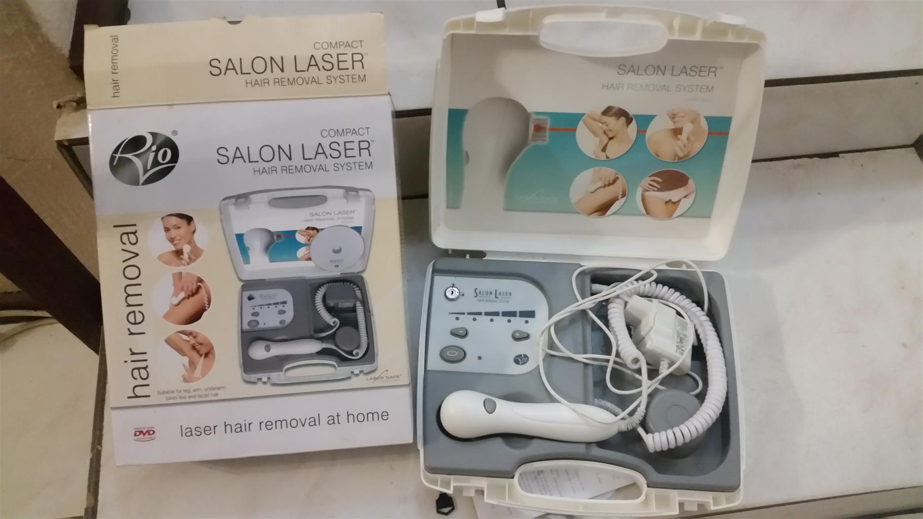 Rio Salon Laser Hair Removal at home machine...