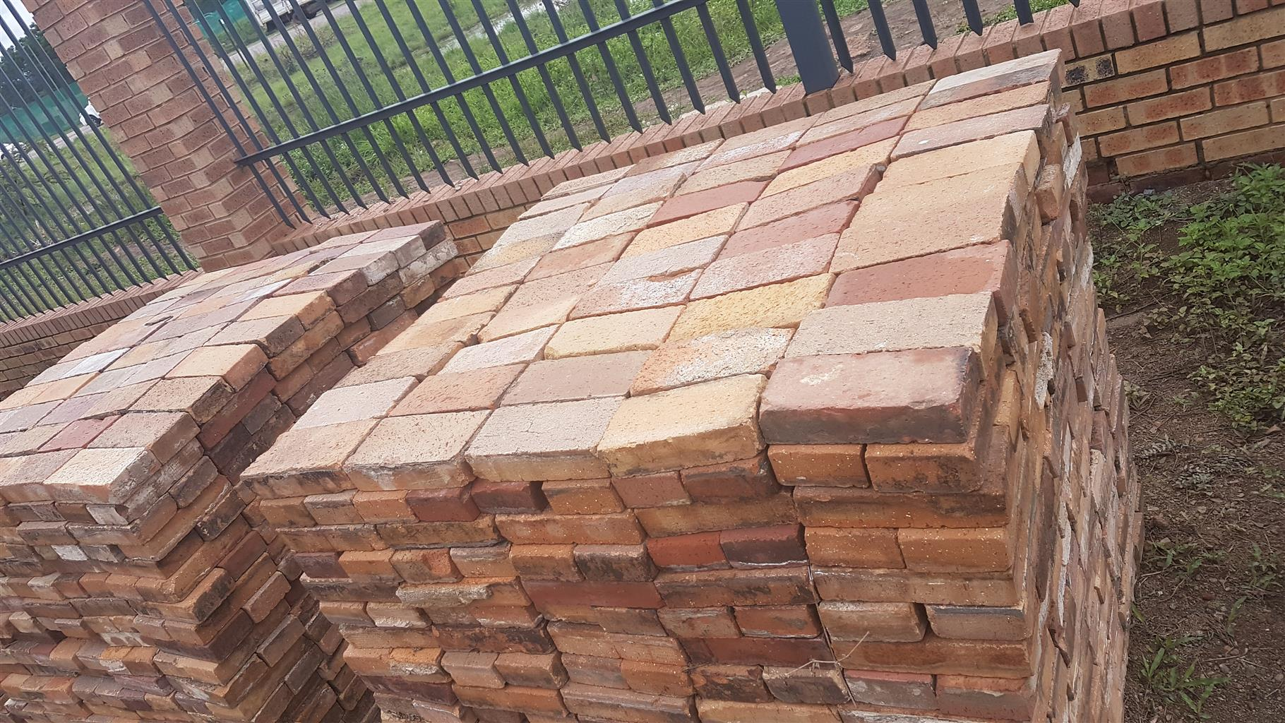 Paving bricks clay used for sale