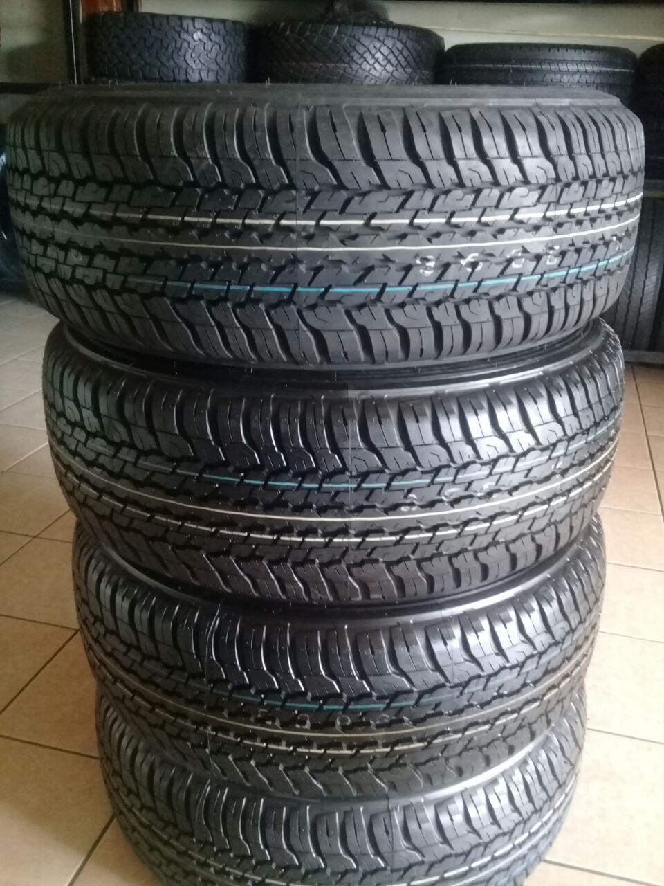 265/60/18 Dunlop Grandtrak A/t R7499