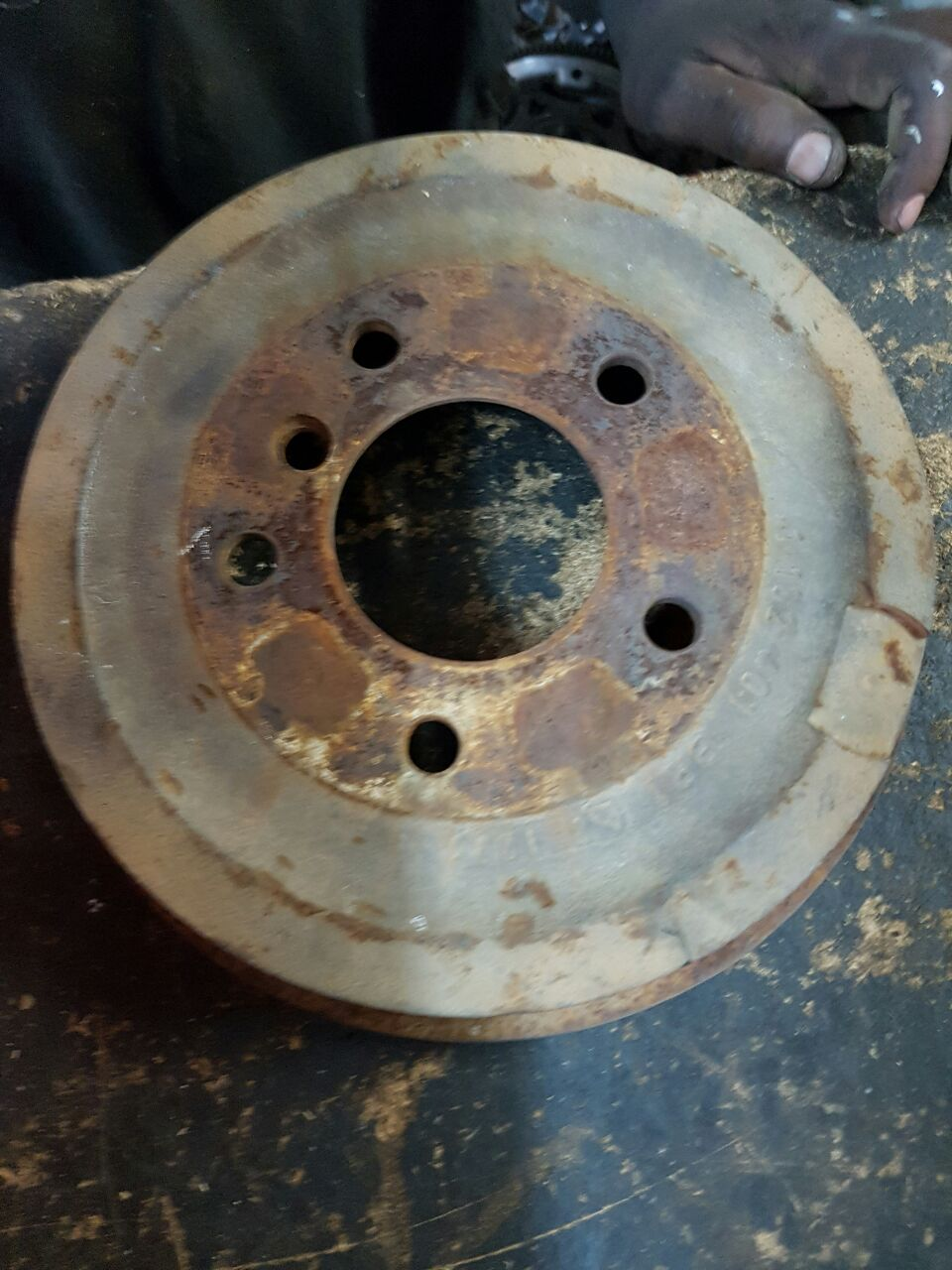 Me e36 316 Rear brake drums