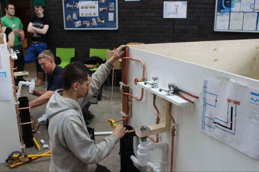 plumbing training. school of Artisan courses. school of welding courses.industrial boiler-making training.