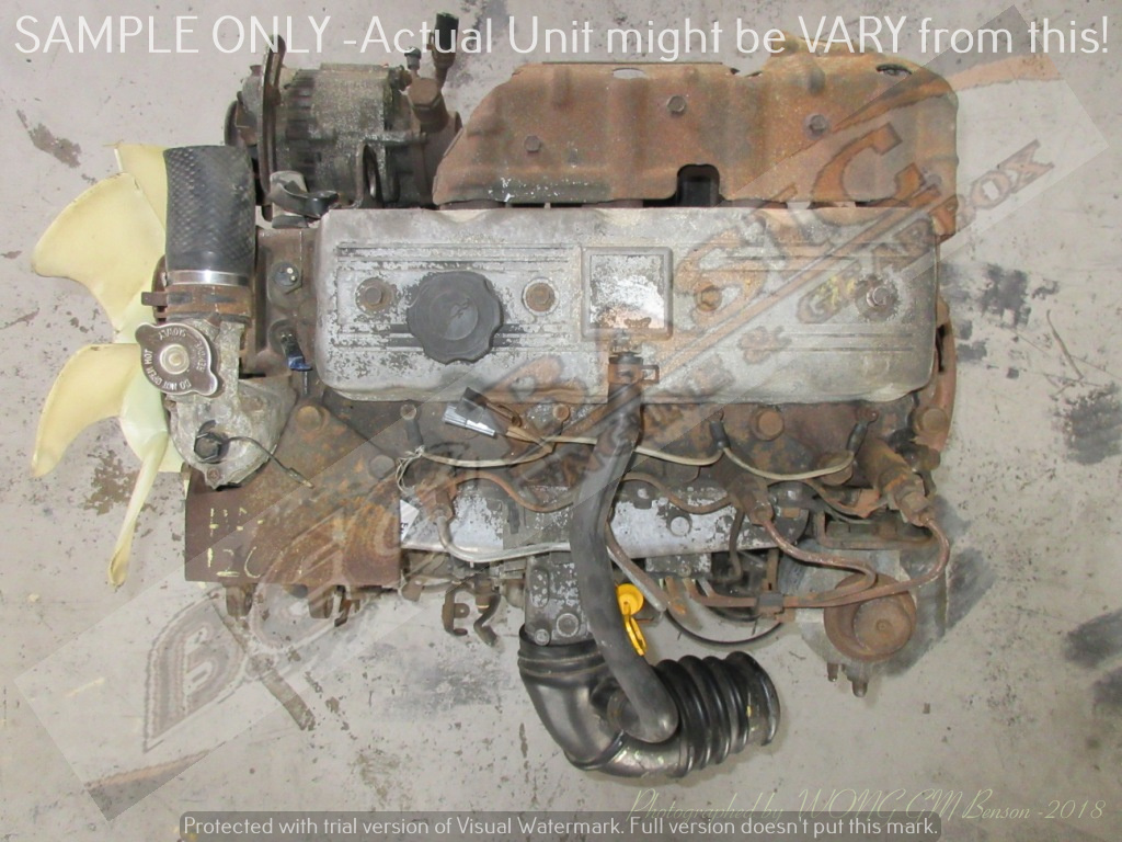MAZDA T3000 / TITAN -HA 3.0L NON TURBO DIESEL ENGINE