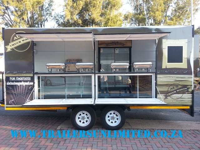 ####CUSTOMBUILD Mobile Kitchens By TU TRAILERS####