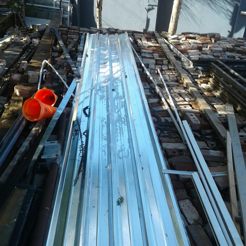 Wide Span IBR Chromodeck Sheeting for Sale