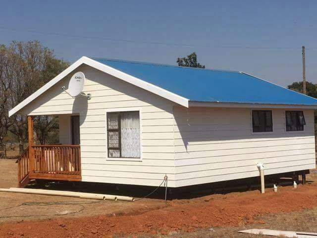 pre cast fibre houses