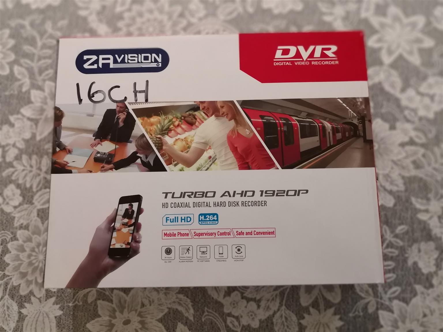 AHD DVR 16 Channel ZA Vision brand new sealed 1 year warranty
