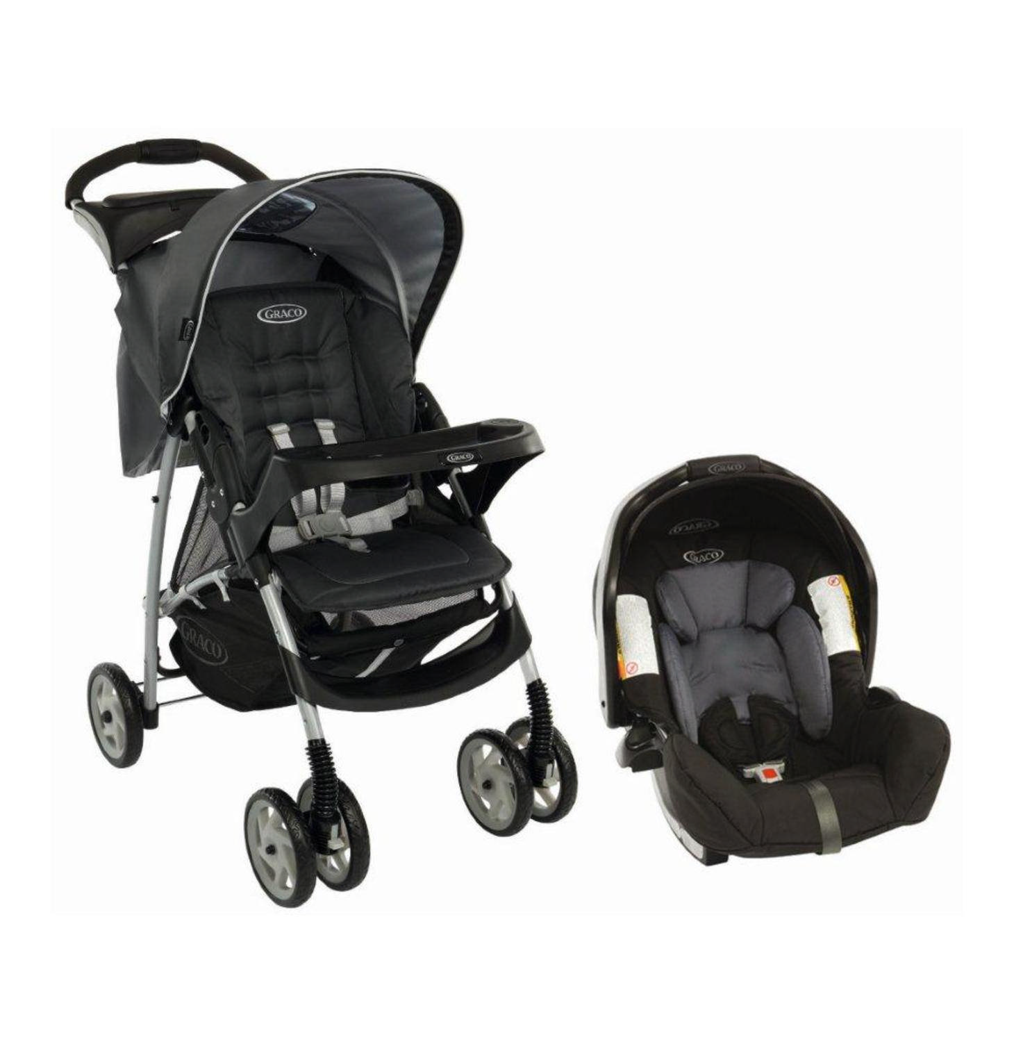 Used Graco Travel Set Pram With Snug And Safe Car Seat In