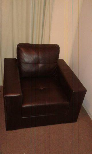 Brown/Black Single seater