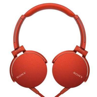Sony Headphones MDR-XB550AP