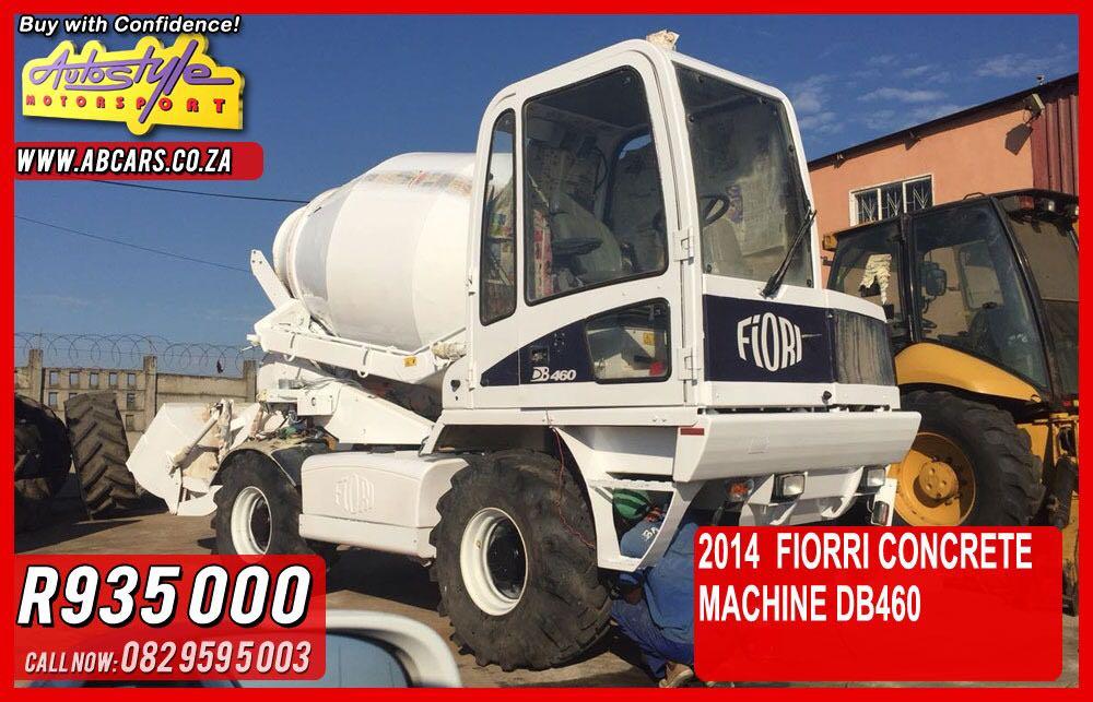 Fiorri db460 concrete batching plant 2014