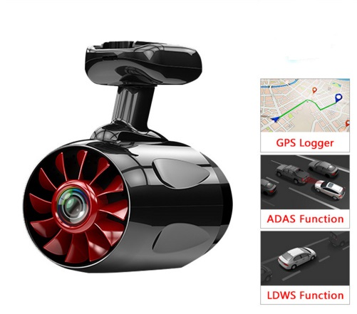 Junsun Ambarella A12 WIFI Car DVR Dashcam with lane & car detection