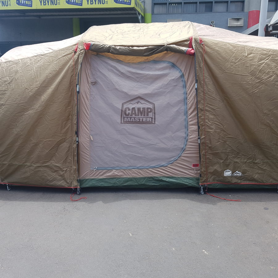camp maset 8 sleer dome tent
