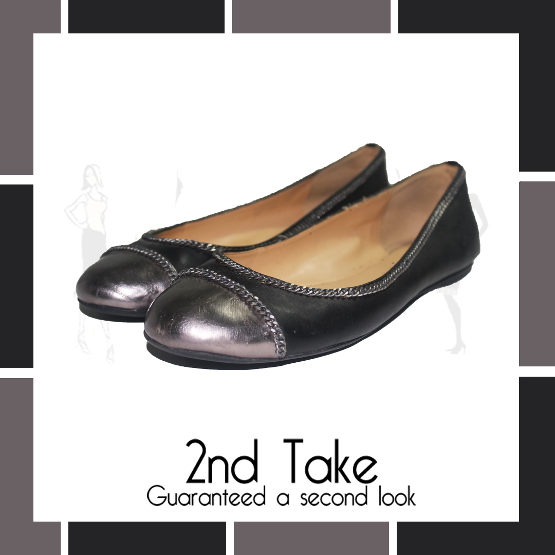 Charles & Keith designer flats not at 2nd Take - at the very best prices!