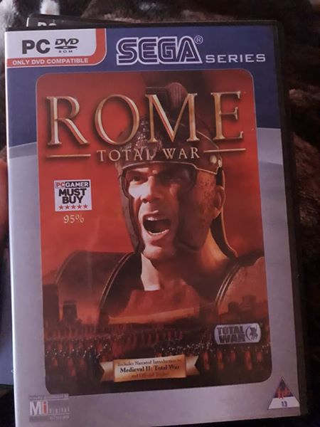 Rome total war 1 game