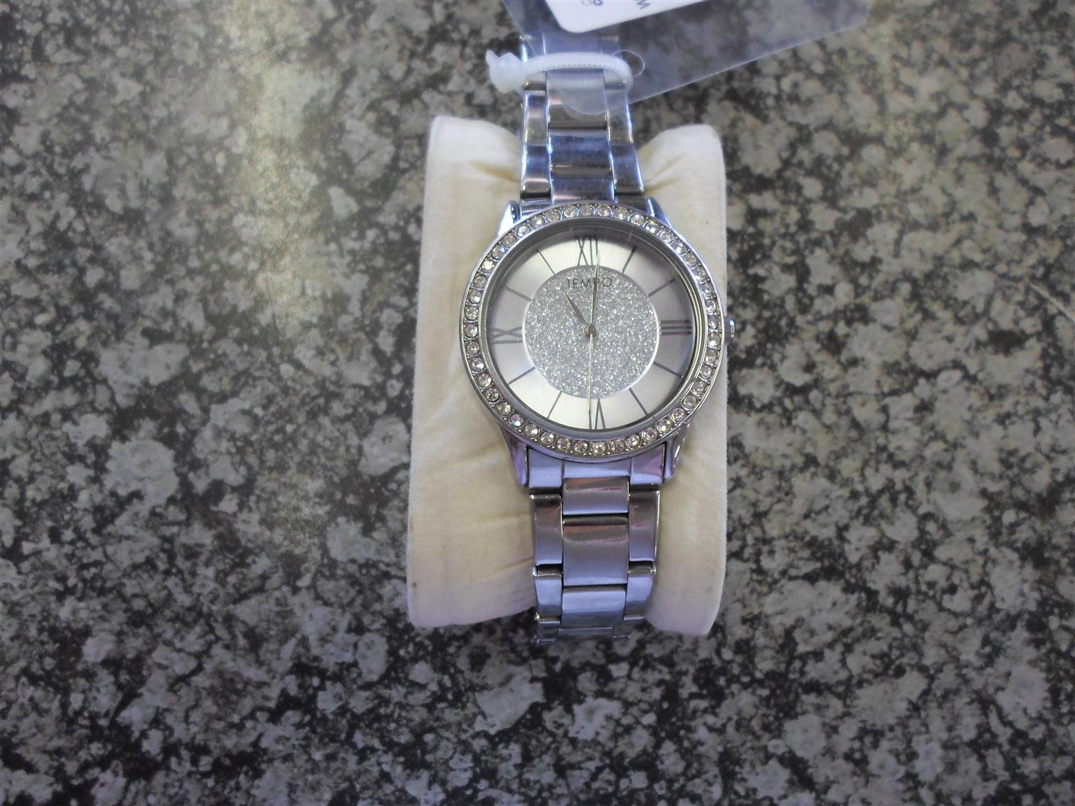 Ladies Stainless Steel Tempo Watch