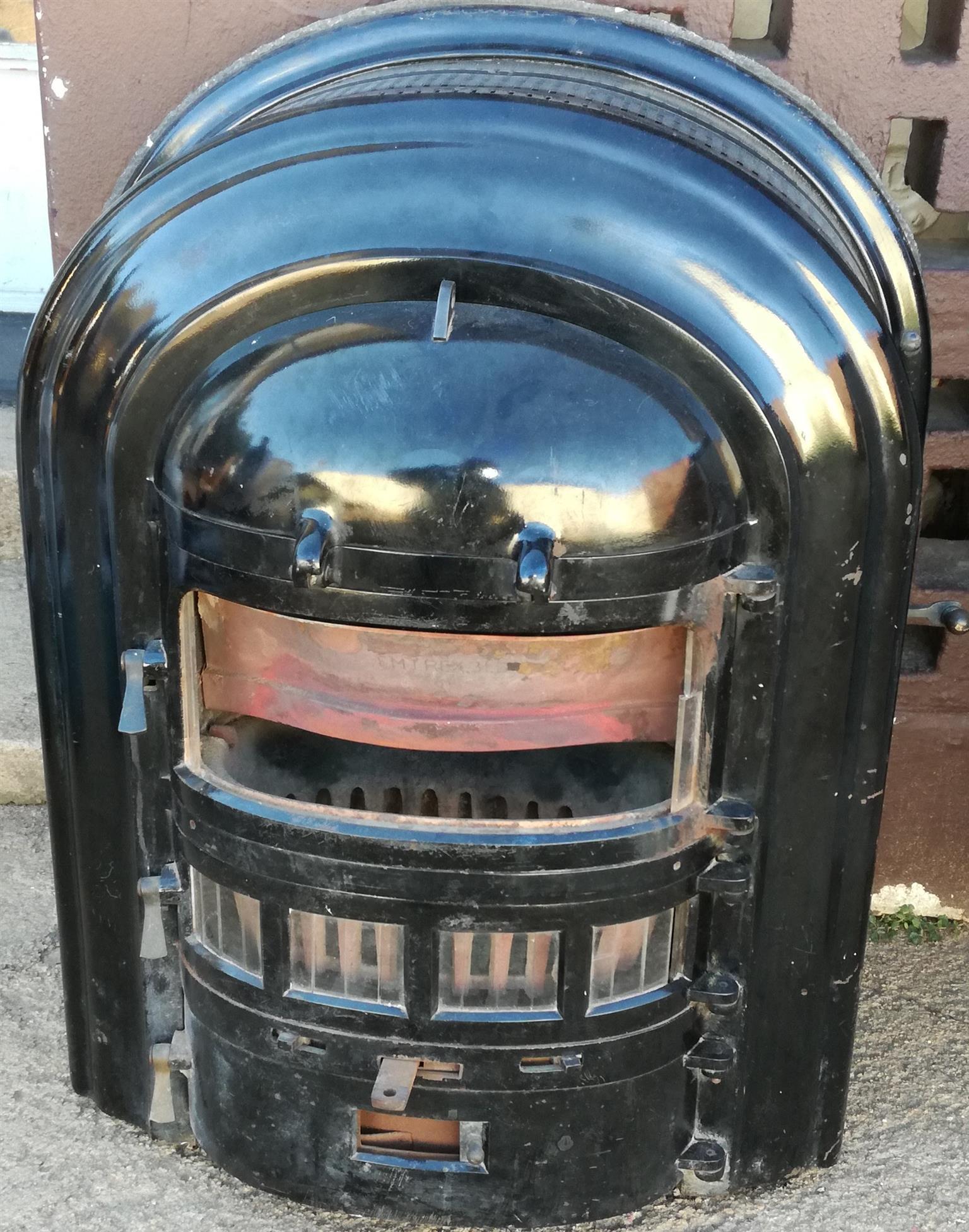 Antracite stove heater