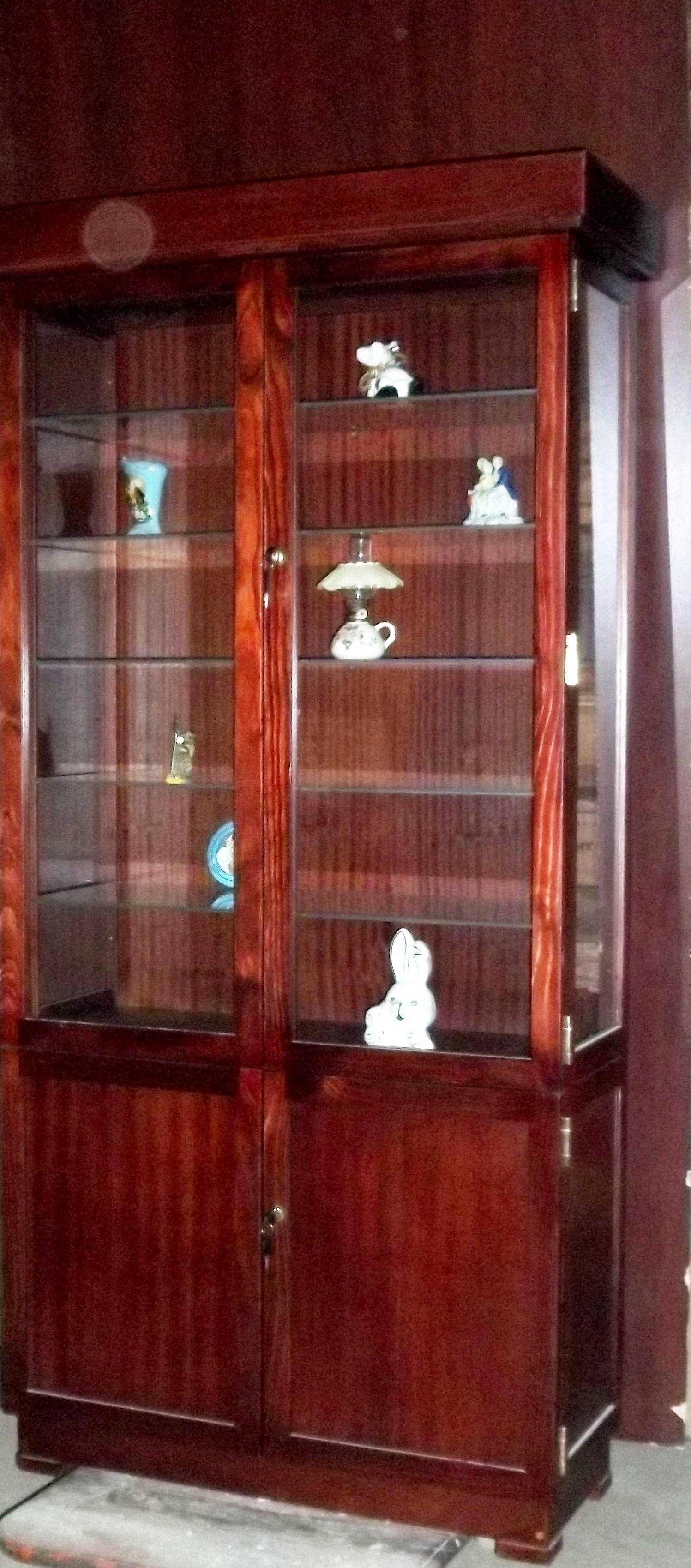 CABINETS Models cars and trains Display Show Cases Custom made