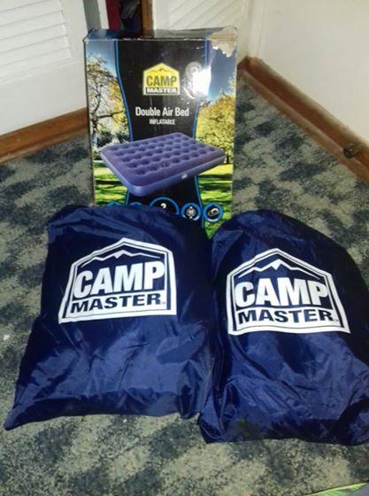 Camp master mattrass ×2