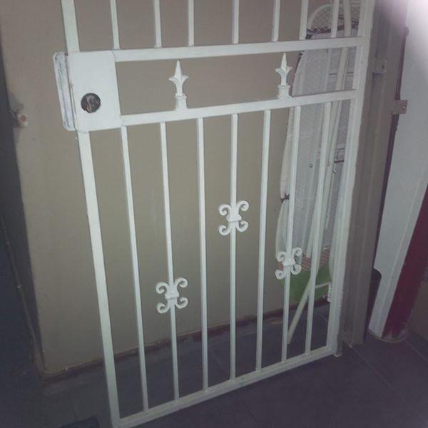 sturdy Iron safety gate