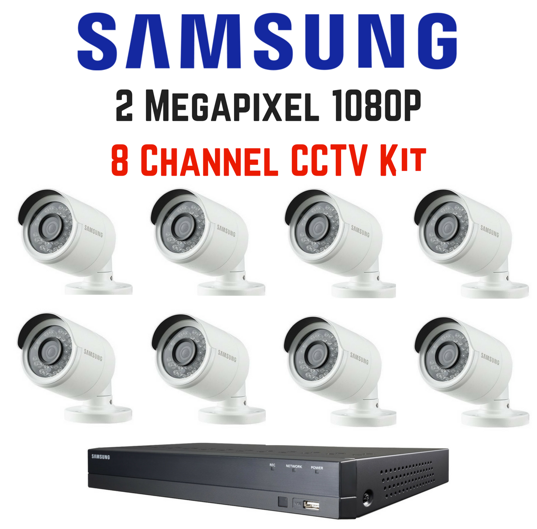 Samsung CCTV Cameras Installed