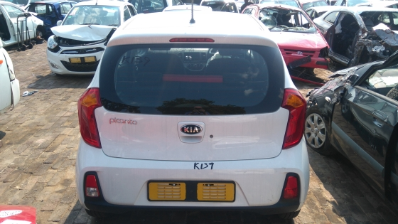 Picanto 1.0 2016 now for stripping of parts.