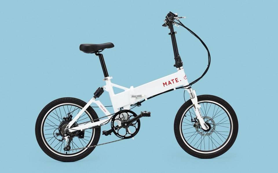 Electric Bike, Mate Bike S 350W motor and 17ah Li-ion battery