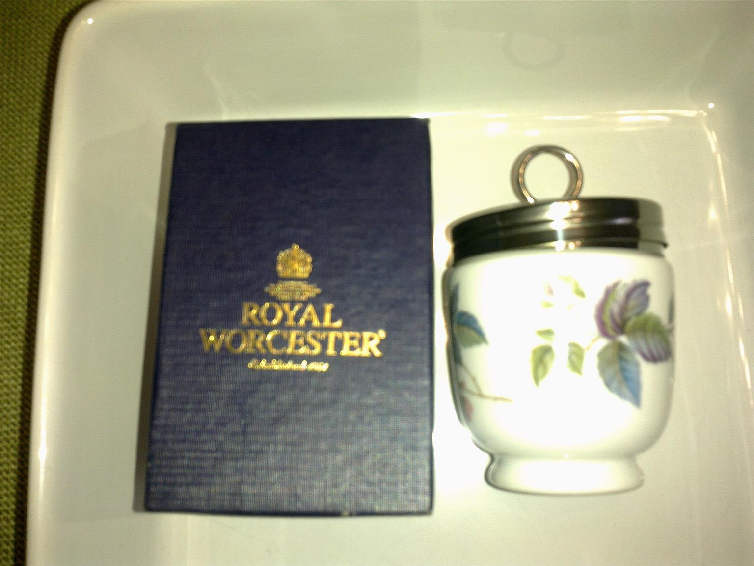 Royal Worcester Double Egg Coddler