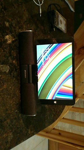 8inch Windows Tab with BT Speaker stand