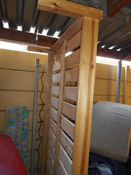3/4 wooden slatted bed base