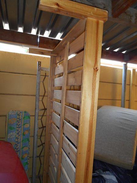 3/4 wooden slatted bed base