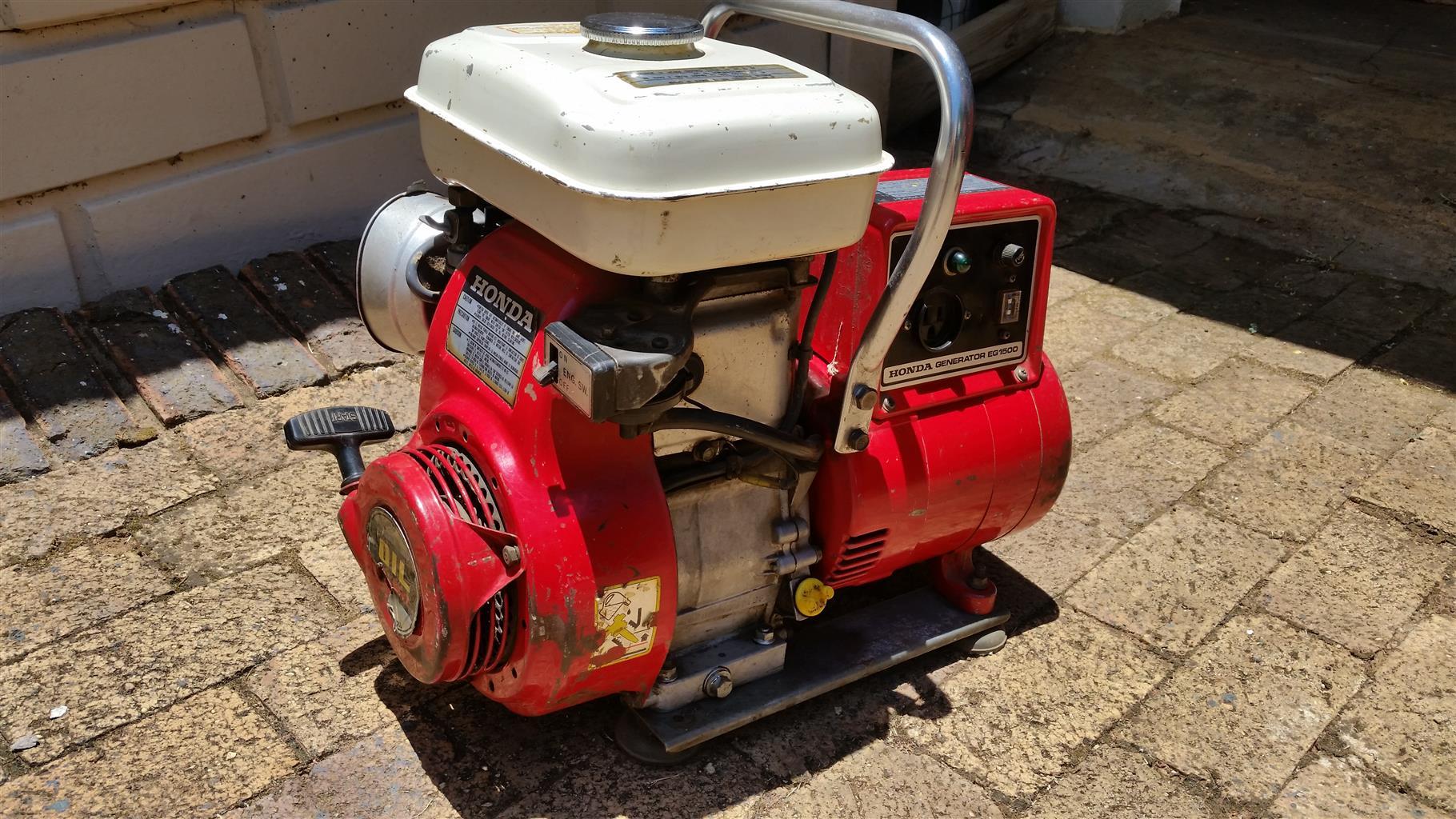 honda  generator junk mail