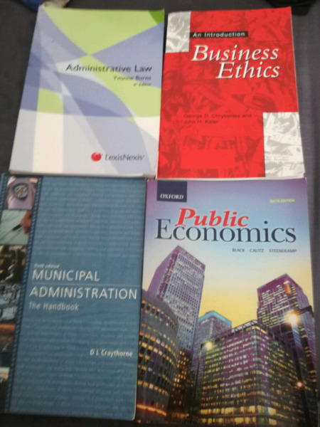 BPA 2nd year textbooks for sale good condition hardly used