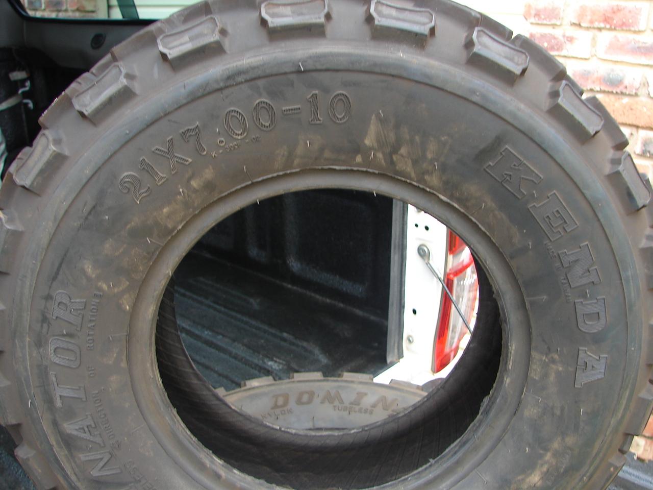 ATV Front Tyres 21x7x10