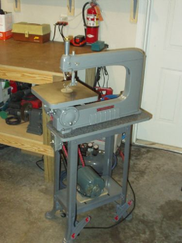 Scroll Saw Rockwell Vintage Tool