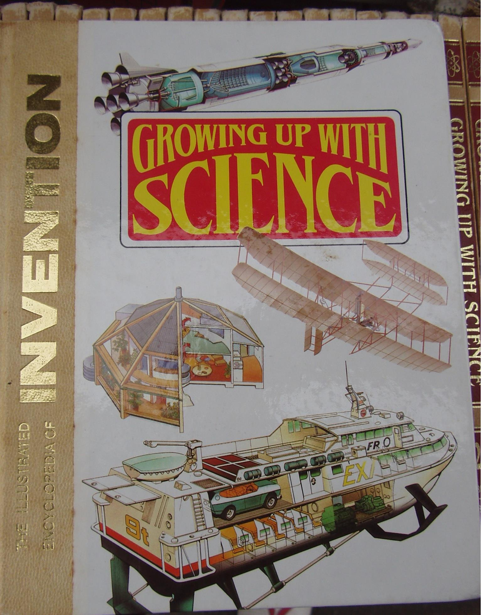 Growing Up With Science The Illustrated Encyclopedia of Invention - Volumes 1 to 26