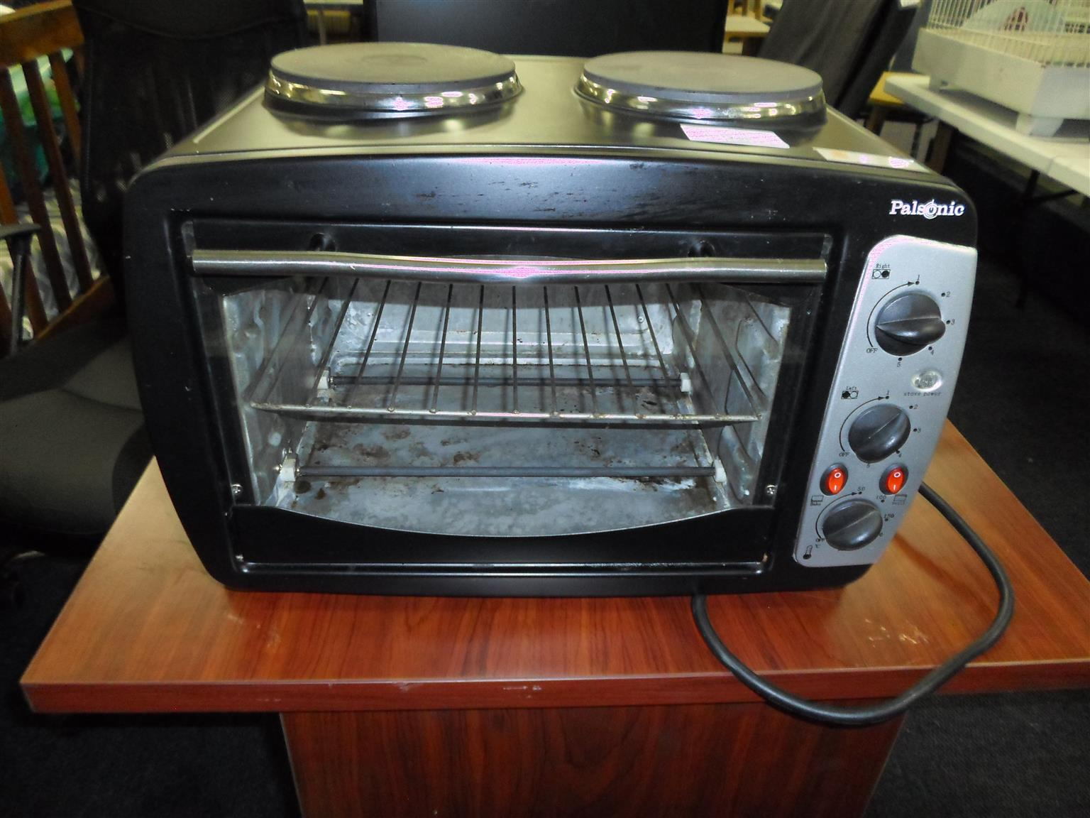 Palsonic Oven +2 Plate Stove