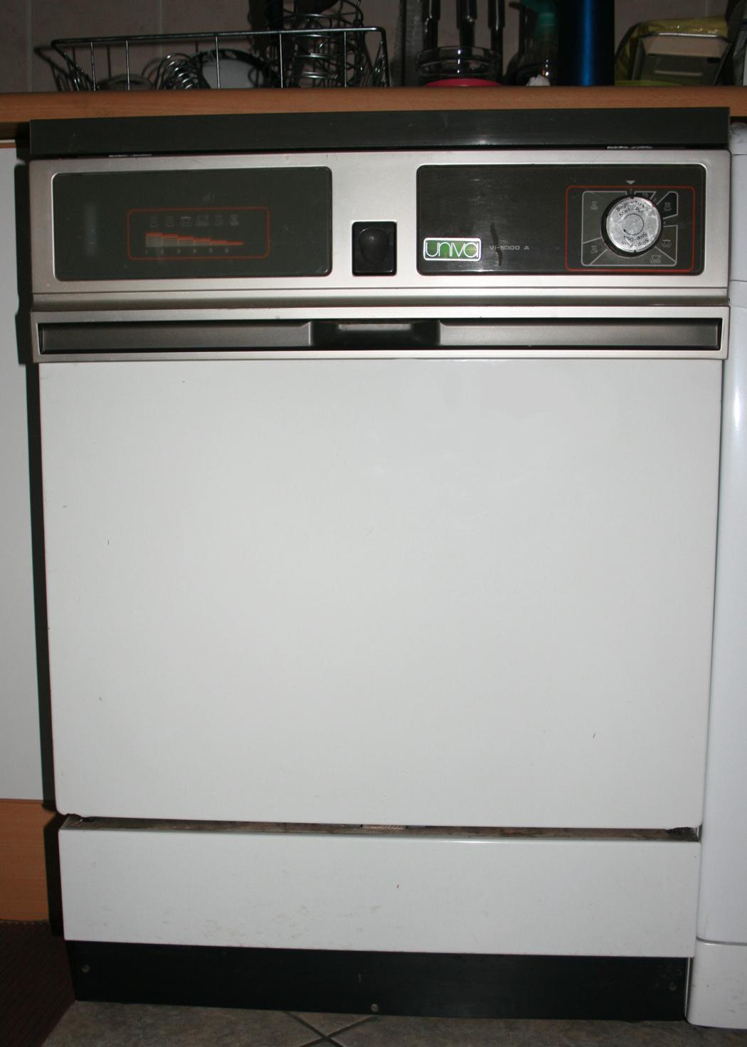 univa dishwasher