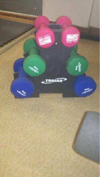 Trajon gym unit